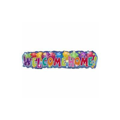 Welcome Home!  Banner - 90 cm X 22 cm
