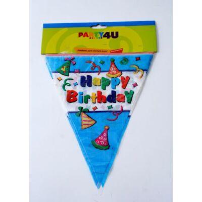 Zászlósor, Happy Birthday felirattal