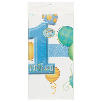 Terítő Születésnapra, 1 st Birthday Felirattal