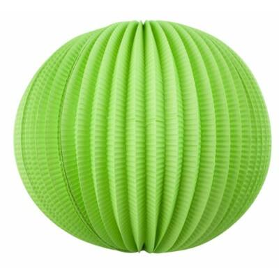 Kerek lampion, zöld színű
