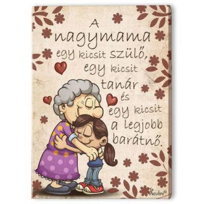 Falikép - A nagymama