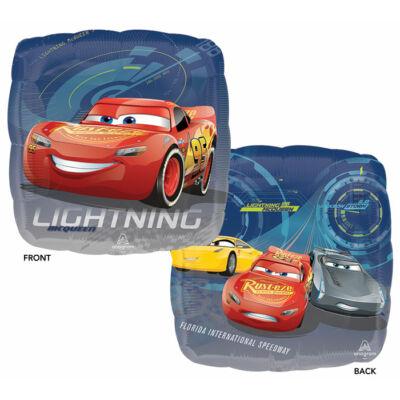 17 inch-es Verdák 3 - McQueen és barátai fólia léggömb