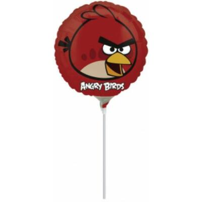 Mini fólia lufi Angry Bird, Piros madár
