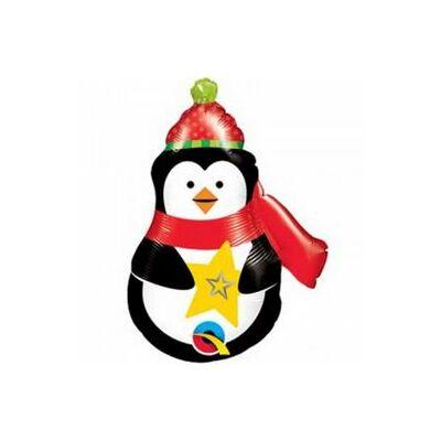 Mini fólia lufi - Pingvin