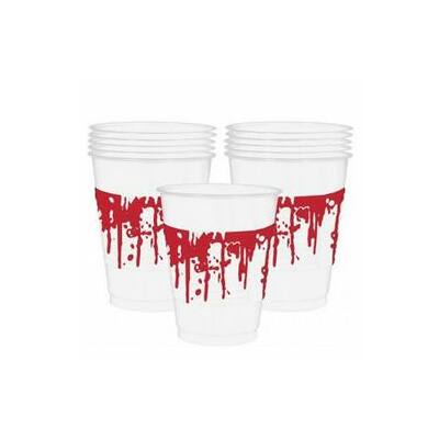 Bloody Good Time - véres parti pohár - 470 ml, 10 db-os