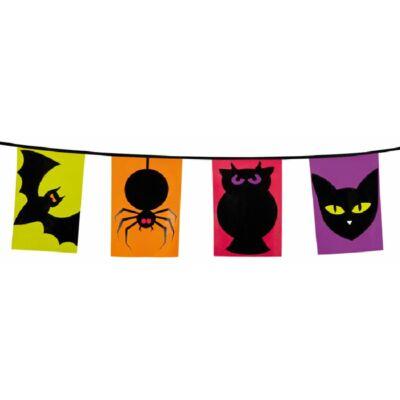 Halloween-i állat mintás zászló