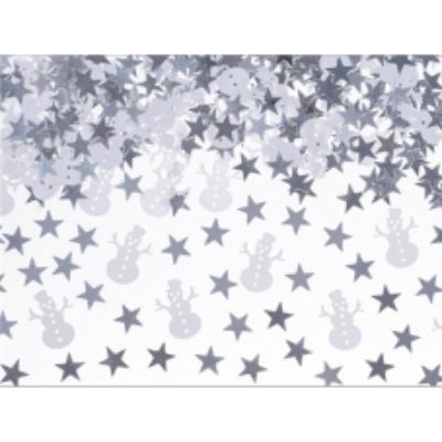 Karácsonyi konfetti - hóember