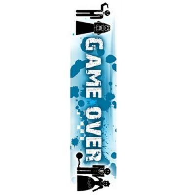 Vállszalag legénybúcsúra Game Over felirattal