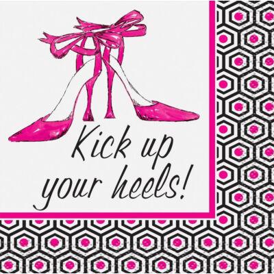 Kick up your heels! -  Koktélszalvéta