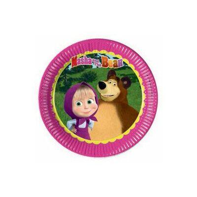 Mása és a Medve tányér