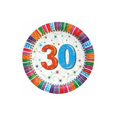 """Papír tányér - """"30"""""""