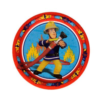 Sam, a tűzoltó parti tányér