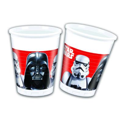 Star Wars - A végső csata - műanyag pohár 8 db/cs