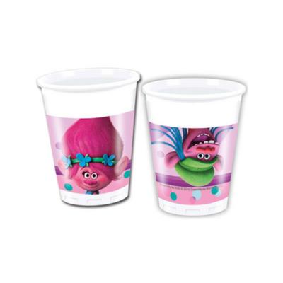 Trolls műanyag pohár