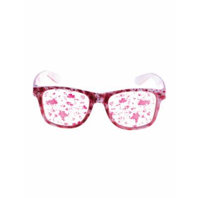 Véres parti szemüveg