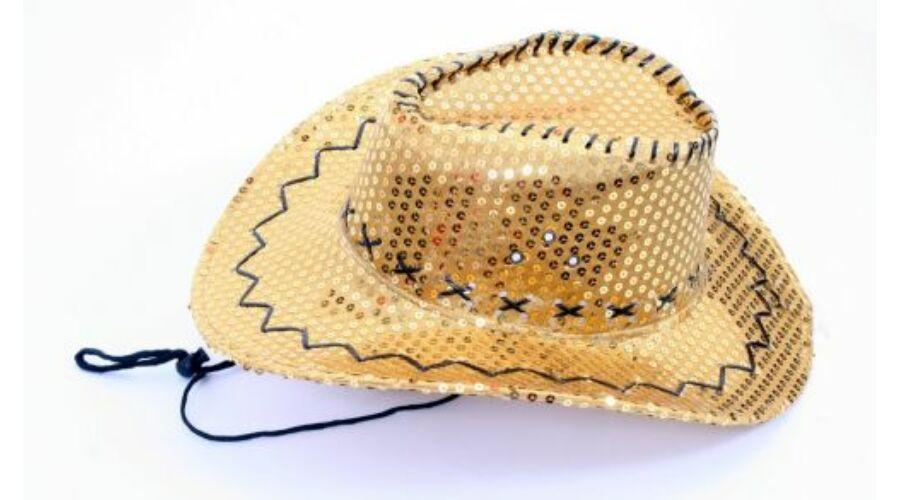 Cowboy kalap flitteres a9f3608609