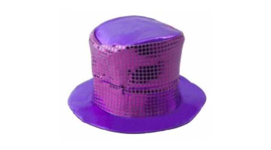 Lila flitteres kalap 02b5e602d3